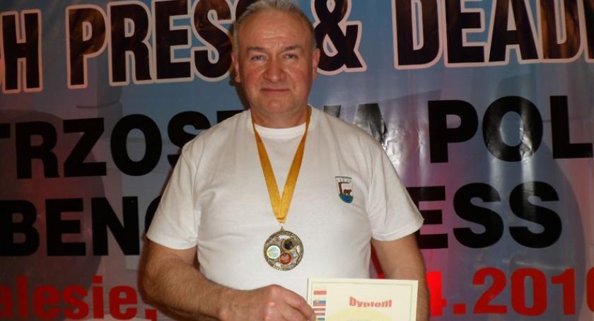 Ciężary, Marian Knuth złotem srebrem Międzynarodowych Mistrzostw Polski - zdjęcie, fotografia
