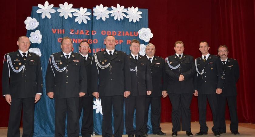 Straż pożarna, Liniewo Strażacy wybrali zarząd gminny - zdjęcie, fotografia
