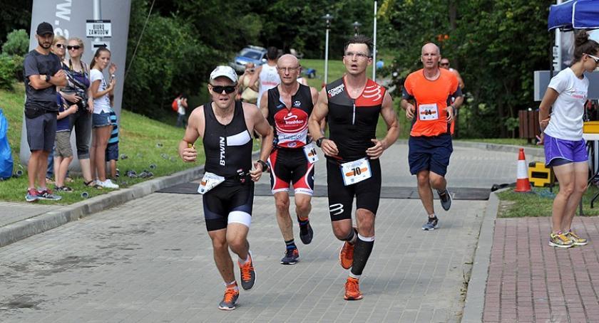 Triathlon, Kartuska Masakra Kartuzy Triathlon Złotej Górze - zdjęcie, fotografia