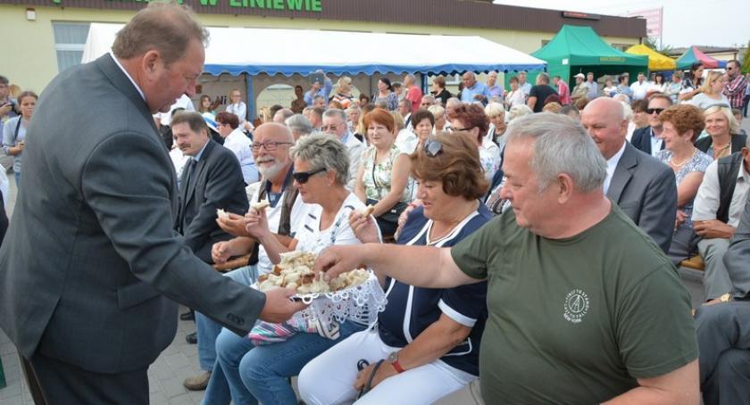 Imprezy, Rolnicy gminy Liniewo dziękowali plony - zdjęcie, fotografia