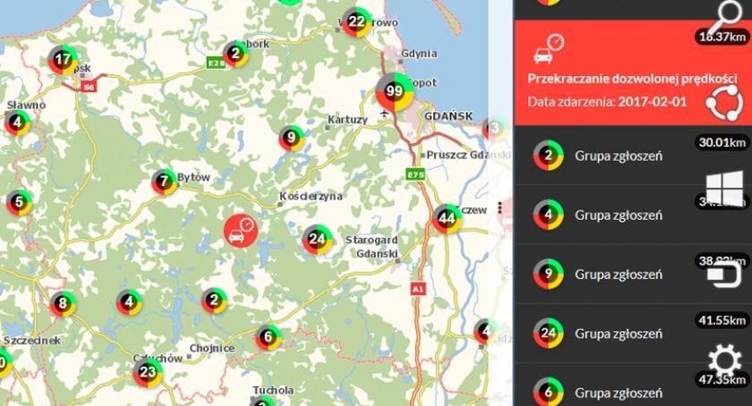Kronika policyjna, szybko zniszczonych drogach mieszkańcy uzupełniają mapę zagrożeń - zdjęcie, fotografia