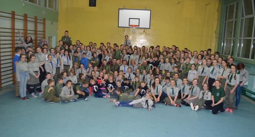 Organizacje pozarządowe, Harcerze Łubiany zwycięzcami Turniejady Zielonego Słonia - zdjęcie, fotografia