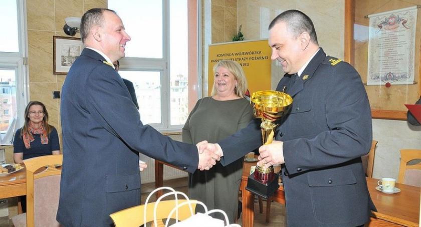Akcje społeczne i charytatywne, Kościerscy strażacy najaktywniejsi programie Ognisty Ratownik Gorąca - zdjęcie, fotografia