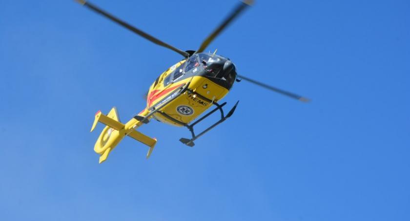 Wypadki, Wypadek skrzyżowaniu Małym Kliczu ranne osoby - zdjęcie, fotografia
