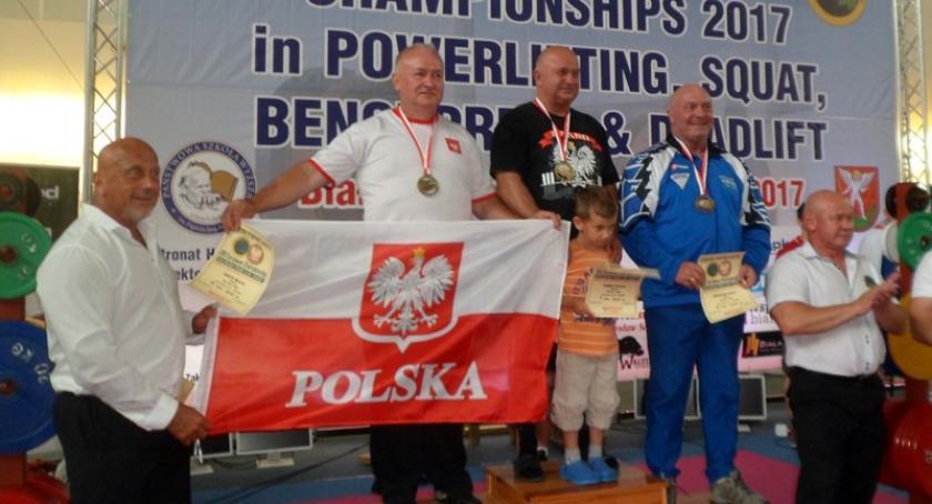 Ciężary, Marian Knuth podwójnym srebrnym medalistą Mistrzostw Europy - zdjęcie, fotografia