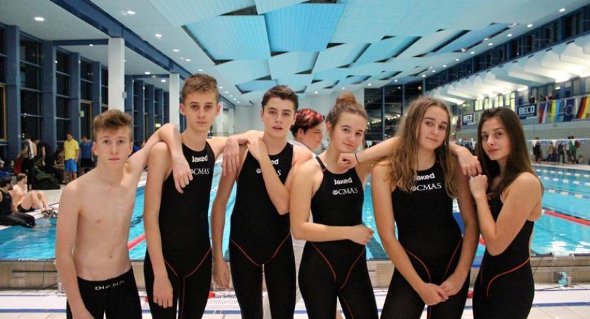 Pływanie, Międzynarodowy sukces zawodników Manta Kościerzyna - zdjęcie, fotografia