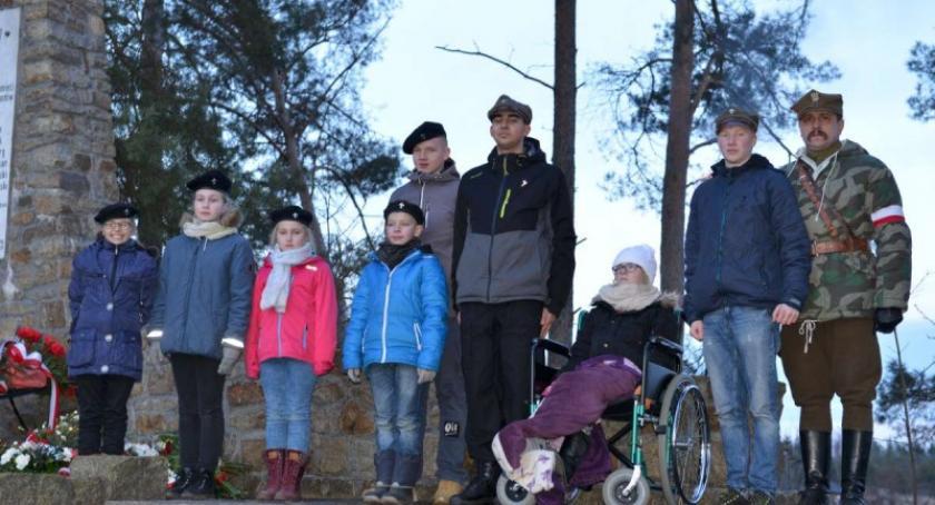 Organizacje pozarządowe, Harcerze Łubiany Wielkiego Klincza uroczystościach Męcikale - zdjęcie, fotografia