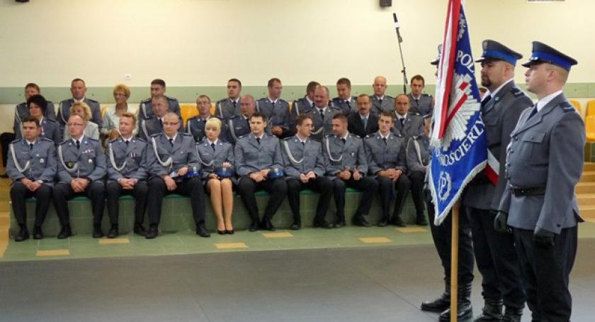 Policja, Kościerzyna Uroczyste obchody święta policji - zdjęcie, fotografia