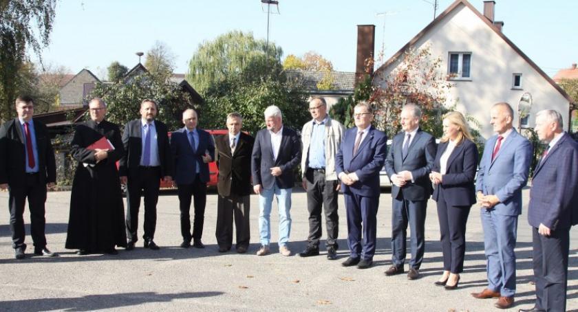 Inwestycje, Przebudowana droga Kościerzyna Wdzydze oficjalnie oddana użytku - zdjęcie, fotografia