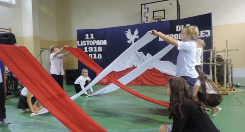 Uroczystości patriotyczne, Narodowe Święto Niepodległości Liniewie - zdjęcie, fotografia
