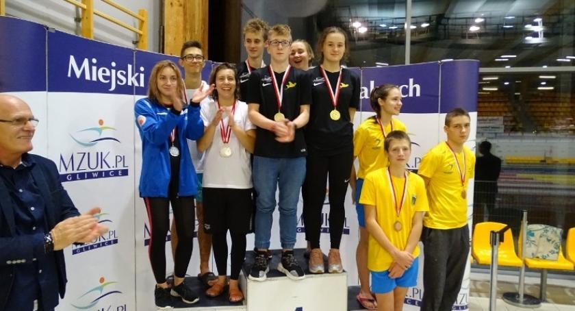 Pływanie, Pięć medali Pucharu Europy Juniorów Manta Kościerzyna - zdjęcie, fotografia