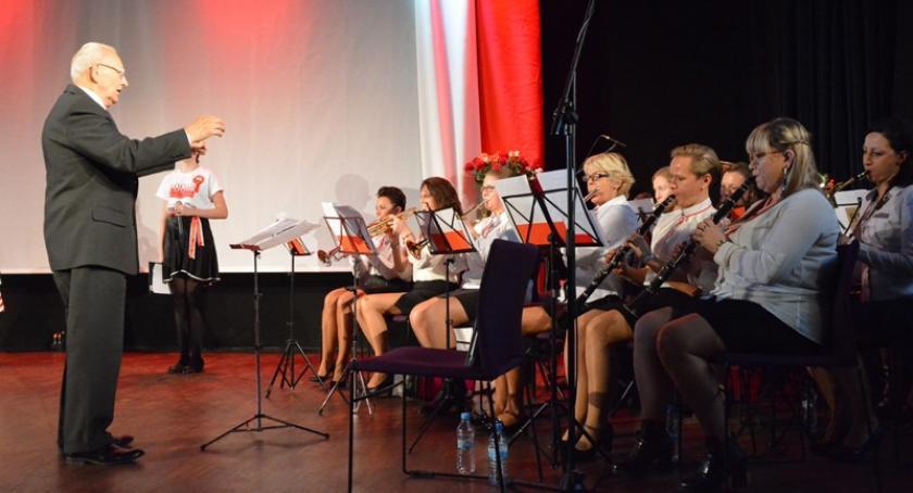 Uroczystości patriotyczne, Muzyczny hołd Ziemi Kościerskiej Niepodległej - zdjęcie, fotografia