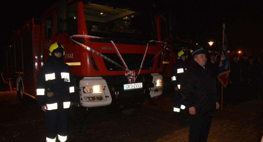 Straż pożarna, Spełniło marzenie ochotników Dziemian uroczyście przekazany - zdjęcie, fotografia