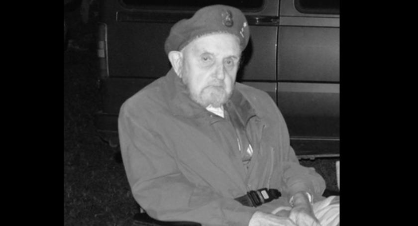 Odeszli od nas..., żyje Edmund Konkolewski harcerz strażak działacz kaszubski - zdjęcie, fotografia