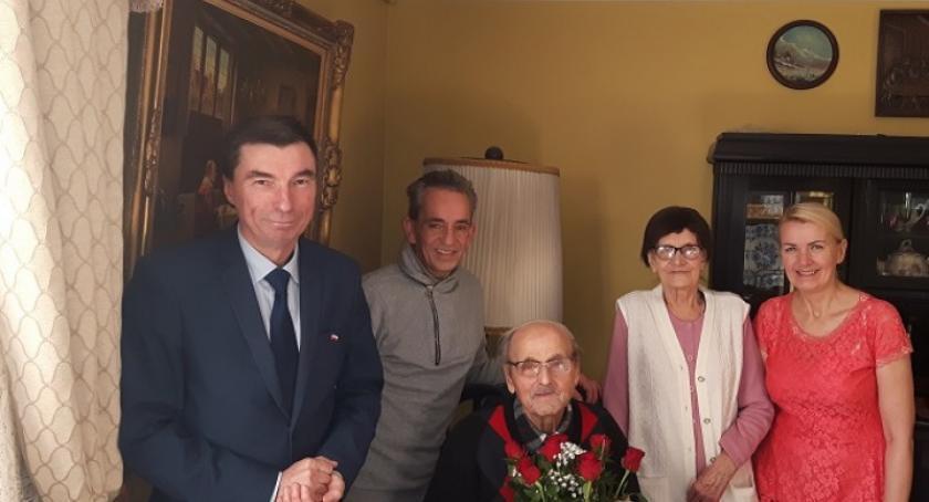 Seniorzy, Józef Kulas Wiela świętował urodziny - zdjęcie, fotografia