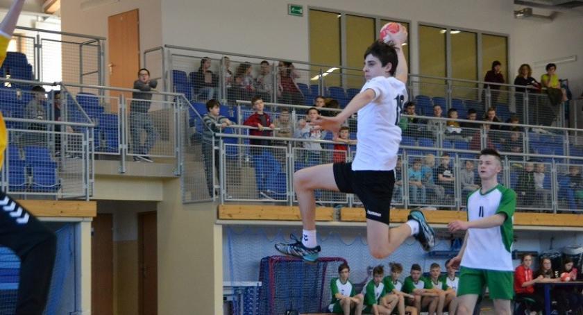 Piłka ręczna, Kolejny bardzo dobry występ piłkarzy ręcznych Zespołu Szkół Lipuszu - zdjęcie, fotografia