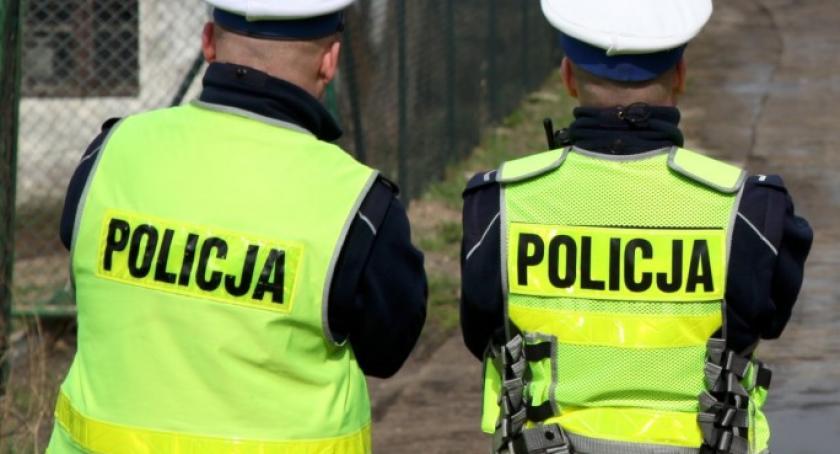 Kronika policyjna, Trzeźwy poranek Kościerskiem - zdjęcie, fotografia