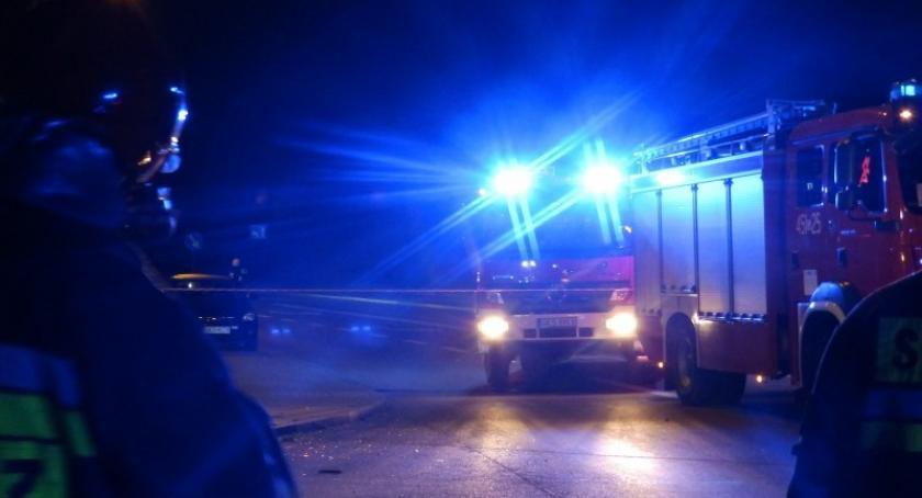 Pożary, Powalane drzewa pożary lasów strażacy interweniowali - zdjęcie, fotografia