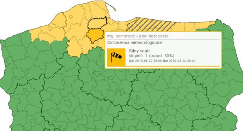 Ostrzeżenia pogodowe, Wietrzna Majówka Kaszubach wydano ostrzeżenia - zdjęcie, fotografia