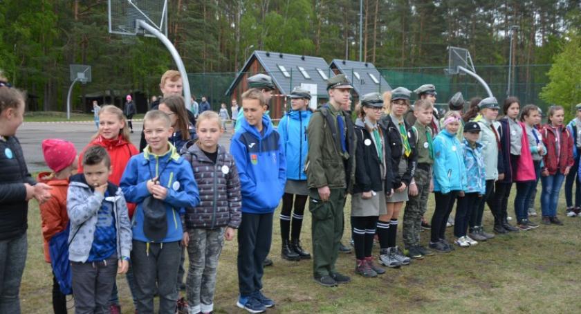 Zapowiedzi, Harcerski weekend rodziną funduszami europejskimi Garczynie - zdjęcie, fotografia
