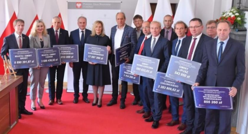Inwestycje, Samorządy dotacją drogi ramach usuwania skutków nawałnicy - zdjęcie, fotografia