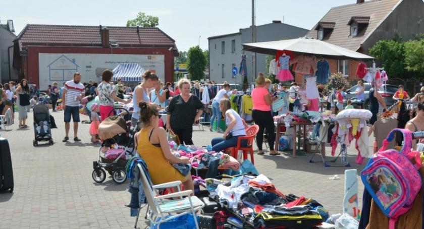 Akcje społeczne i charytatywne, Letnia Giełda Kościerzynie - zdjęcie, fotografia