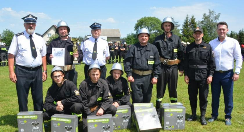 Straż pożarna, Grabowo najlepsze powiatowych zmaganiach strażaków - zdjęcie, fotografia