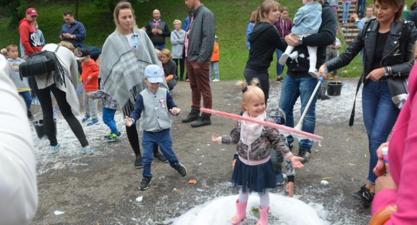 Imprezy, Festyn Baniek Mydlanych Kościerzynie - zdjęcie, fotografia