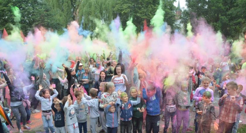 Imprezy, Święto Kolorów Kościerzynie - zdjęcie, fotografia