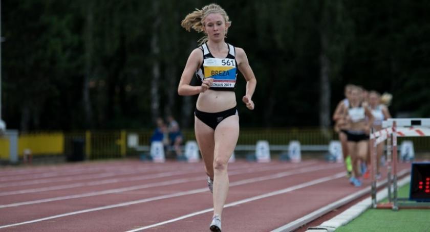 Biegi, Olimpia Breza mistrzynią Polski biegu metrów - zdjęcie, fotografia