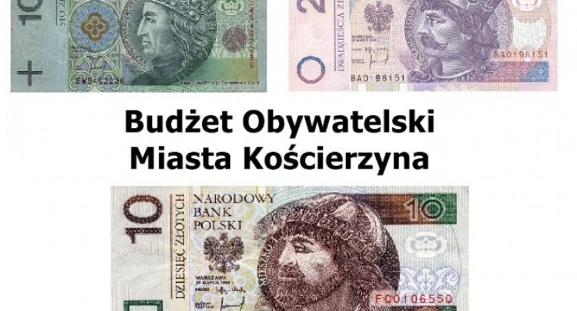 Wieści z samorządów, Kościerzyna Oddaj głos zdecyduj jakie inwestycje zostaną zrealizowane - zdjęcie, fotografia