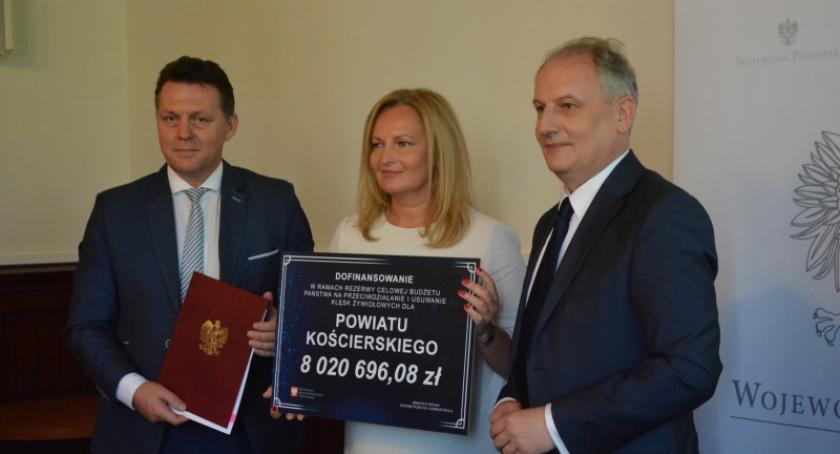 Inwestycje, Kolejne dotacje drogi powiatu gminy Lipusz ramach usuwania skutków nawałnicy - zdjęcie, fotografia