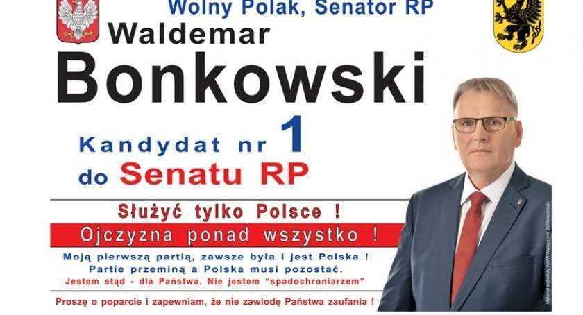 Wybory, Wolny Polak Waldemar Bonkowski - zdjęcie, fotografia