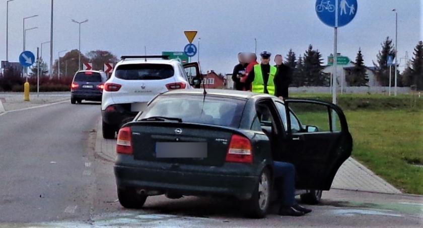 Wypadki, Kościerzyna Wypadek ulicy Przemysłowej - zdjęcie, fotografia