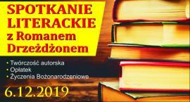 Spotkanie literackie z Romanem Drzeżdżonem w Łubianie