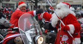 Mikołaje na motorach w Kościerzynie