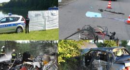 Więcej wypadków, pożarów i utonięć - straż i policja podsumowują wakacje