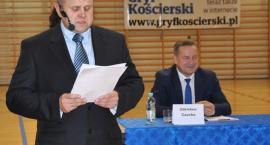 Debata z kandydatami na burmistrza - pojawił się tylko Zdzisław Czucha