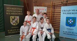 Dziesięć medali dla kościerskich karateków na turnieju w Wejherowie