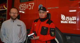 Wielki Klincz. Strażacy szkolili się z obsługi kamery termowizyjnej