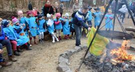Pożegnali zimę, powitali wiosnę, czyli wspólna zabawa w kościerskiej Strzelnicy