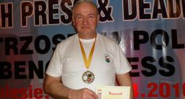 Marian Knuth ze złotem i srebrem Międzynarodowych Mistrzostw Polski