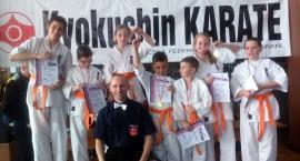 Kościerski Klub Kyokushin Karate z siedmioma medalami Mistrzowstw Pomorza