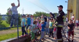 Nowa Karczma. Przedszkolaki z wizytą u strażaków