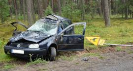 Korne - Bytów. Czołowo - boczne zderzenie ciężarówki z osobówką - nie żyje 54-letnia kobieta