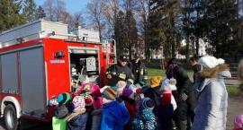 Kościerzyna. Strażacy z wizytą u przedszkolaków