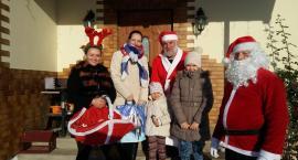 Mikołaj z pomocnikami zawitał do mieszkańców Wysina