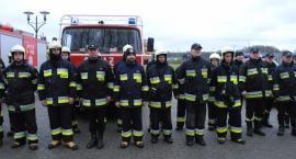 Strażacy z trzech powiatów gasili pożar w Lipuszu