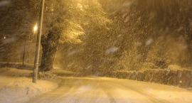 Sparaliżowany ruch na drogach - to przez śnieg