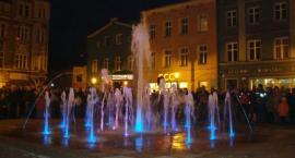 Widowiskowe otwarcie fontanny